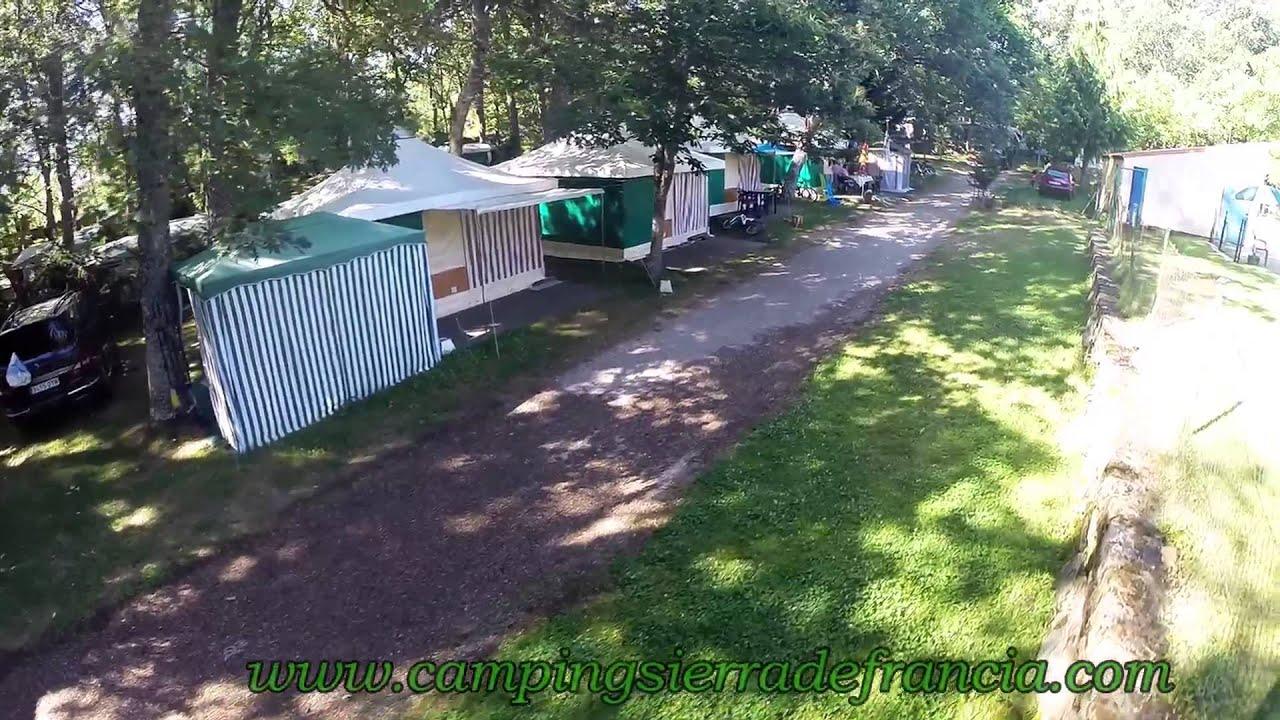 camping sierra de francia - youtube