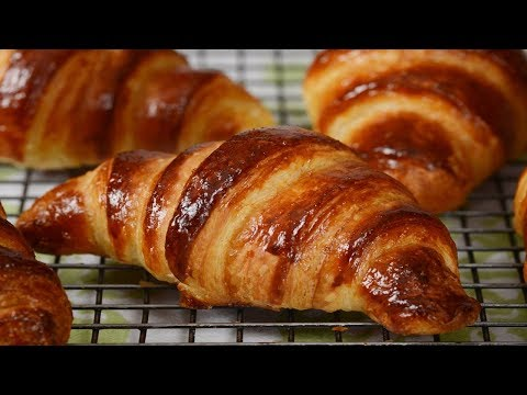 Homemade Croissants Recipe Demonstration - Joyofbaking.com