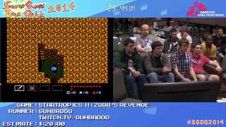 Summer Games Done Quick 2014 - Part 52 - Startropics II: Zoda's Revenge