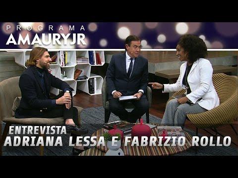 Entrevista - Adriana Lessa e Fabrizio Rollo