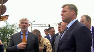 Развитие транспортной инфраструктуры в Астраханской области обсудил министр транспорта с врио главы.