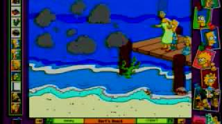 The Simpsons Cartoon Studio - Marketing Video - 1996