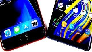 iPhone 8 Plus vs Samsung Galaxy Note 9: Full Comparison