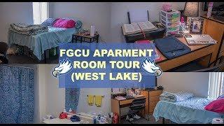FGCU Apartment Room Tour (West Lake)