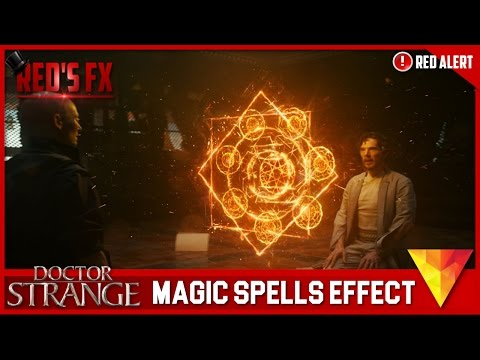Doctor Strange Magic Spells Hitfilm 4 Express Tutorial | Red's Fx