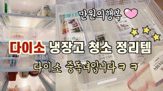 다이소추천템/냉장고 정리청소