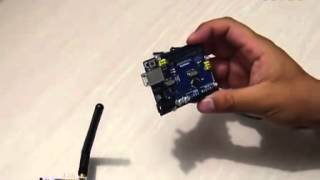Repeat youtube video Teach you how to use Arduino WiFi Shield diy RC remote control kit