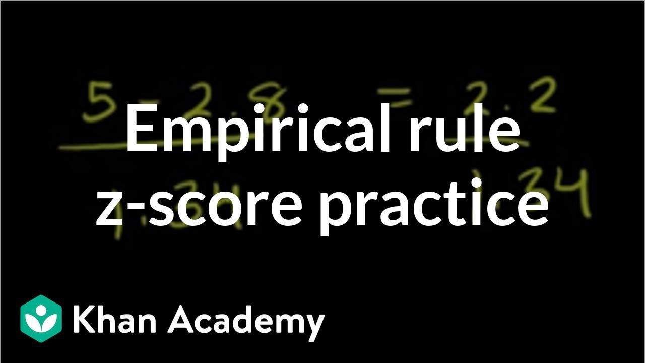 worksheet Z Score Practice Worksheet more empirical rule and z score practice from ck12 org video khan academy