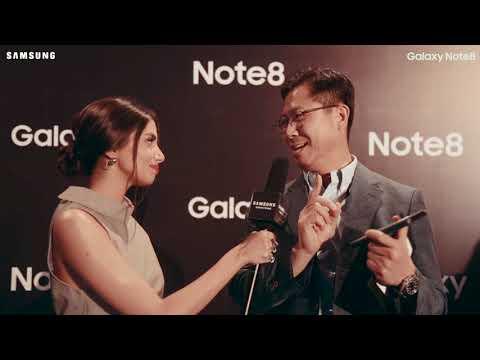 Samsung Note 8 - Launch Event Pakistan