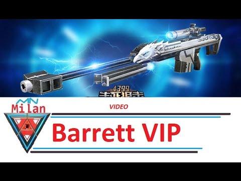 MN Milan Truy Kích ▻ Barrett VIP ( 3Z vip )