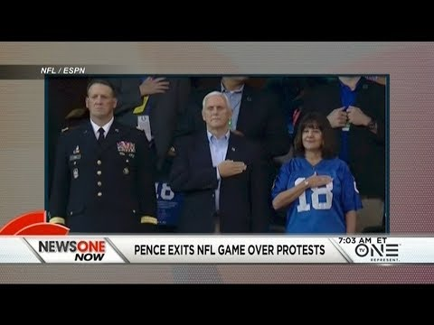 VP Pence's Political Stunt At The Colts Game Cost Taxpayers At Least $250K