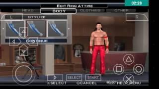 How to create Shinsuke Nakamura WWE SVR 11 PSP