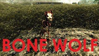 Skyrim Special Edition Mod Review Bone Wolf (Creation Club)