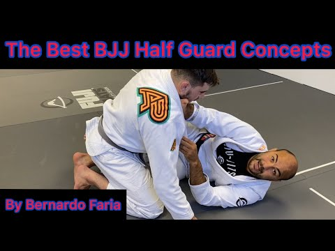 One Of The Most Important Concepts For The Best BJJ Half Guard by Bernardo Faria