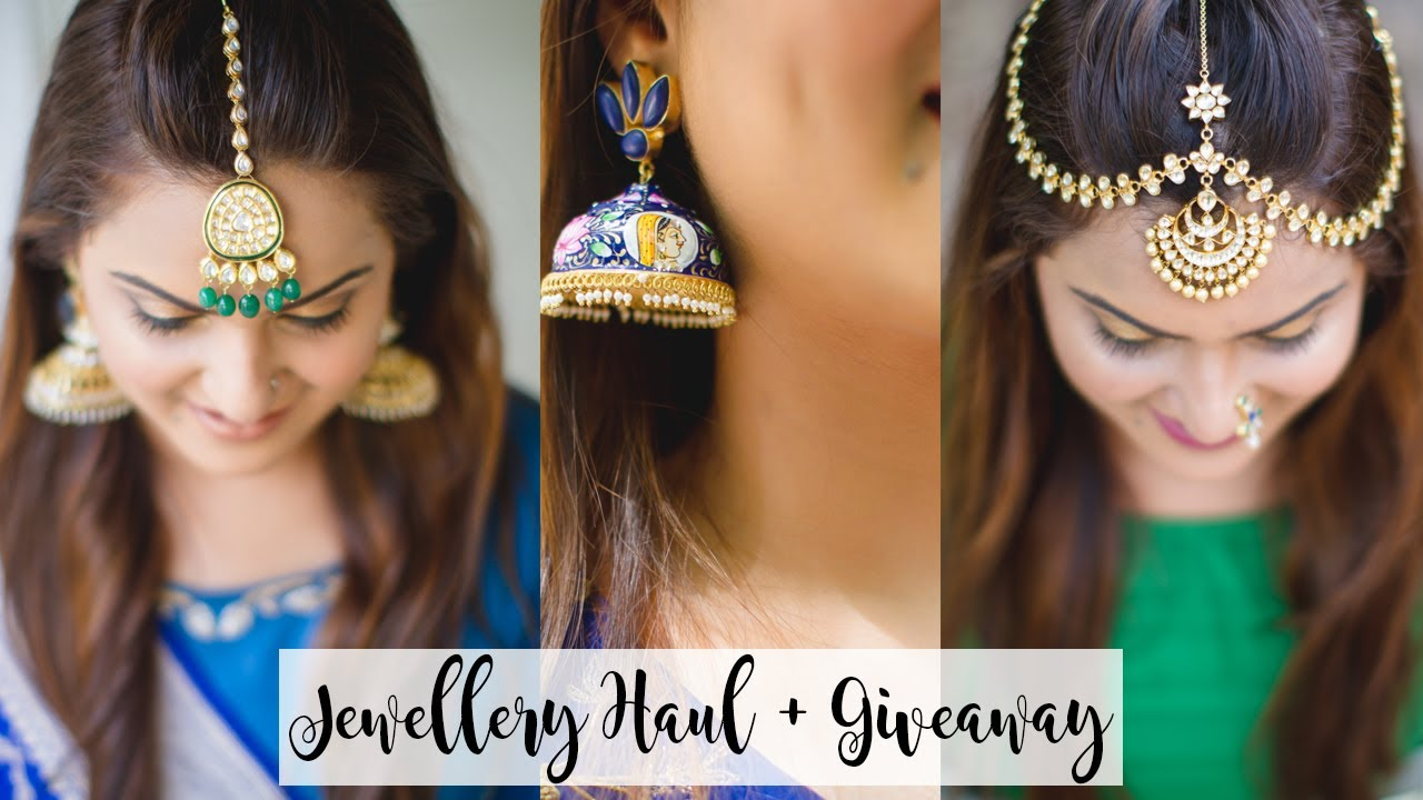 80a2c1c12 Indian Destination Wedding Jewellery Haul + Jewellery GIVEAWAY ...