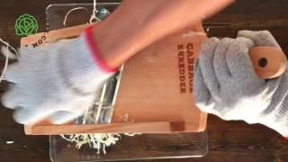 Compact Cabbage Shredder - CabbageShredder.com