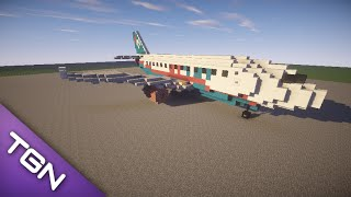 Minecraft Airplane- FlyLo Airbus A300 [+Download]
