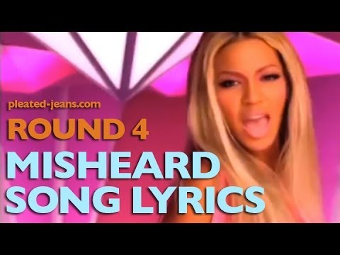 Misheard Song Lyrics: Round 4 - YouTube