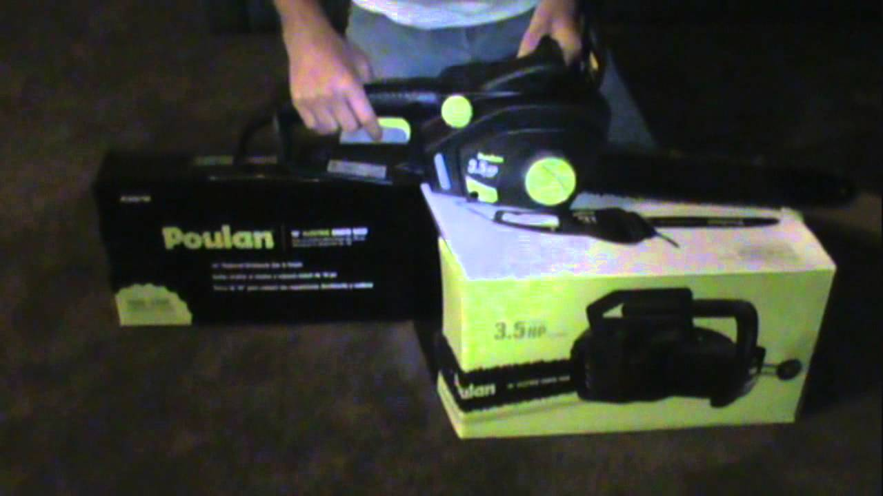 Poulan electric chainsaw review youtube poulan electric chainsaw review greentooth