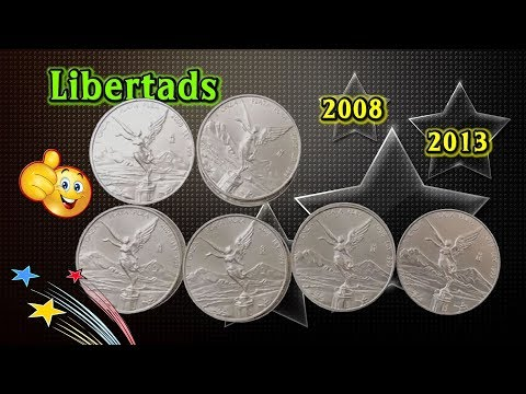 Libertads Purchased From an Online Auction