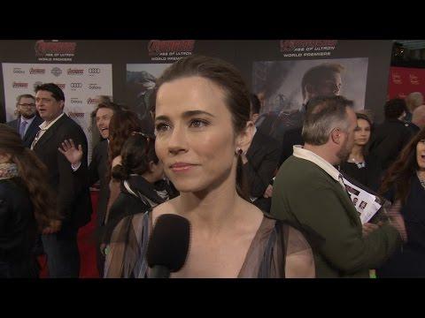 "Linda Cardellini on Marvel's ""Avengers: Age of Ultron"""