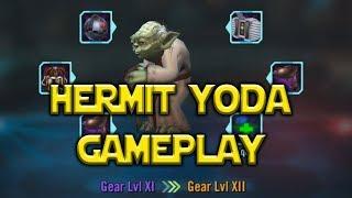 Star Wars: Galaxy Of Heroes - Hermit Yoda Gameplay