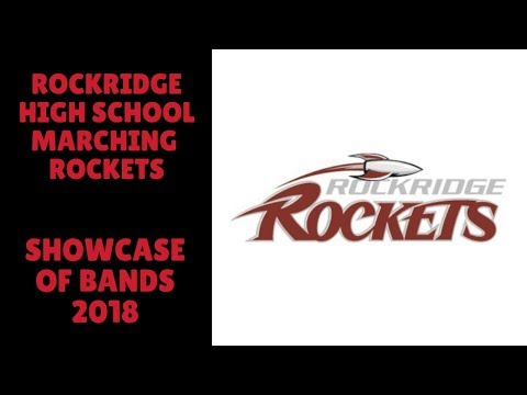 Showcase of Bands 2018 - Rockridge Marching Rockets
