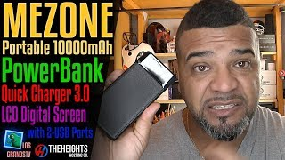 MEZONE Portable PowerBank 10000mAh 🔌 : LGTV Review