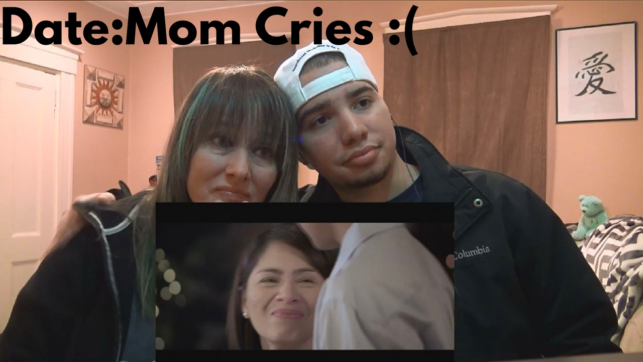 Mom Son Reaction Jollibee Commercial 2017 Date Heartbreaking Story Mom Cries Youtube