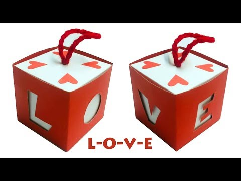Love Box Card | Greeting Cards Latest Design Handmade | Gift Box Ideas