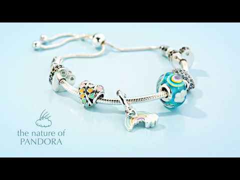15c9ae34e Celebrate spring's magic with Pandora jewellery featuring fantastical  symbols, wildlife and flowers. - YouTube
