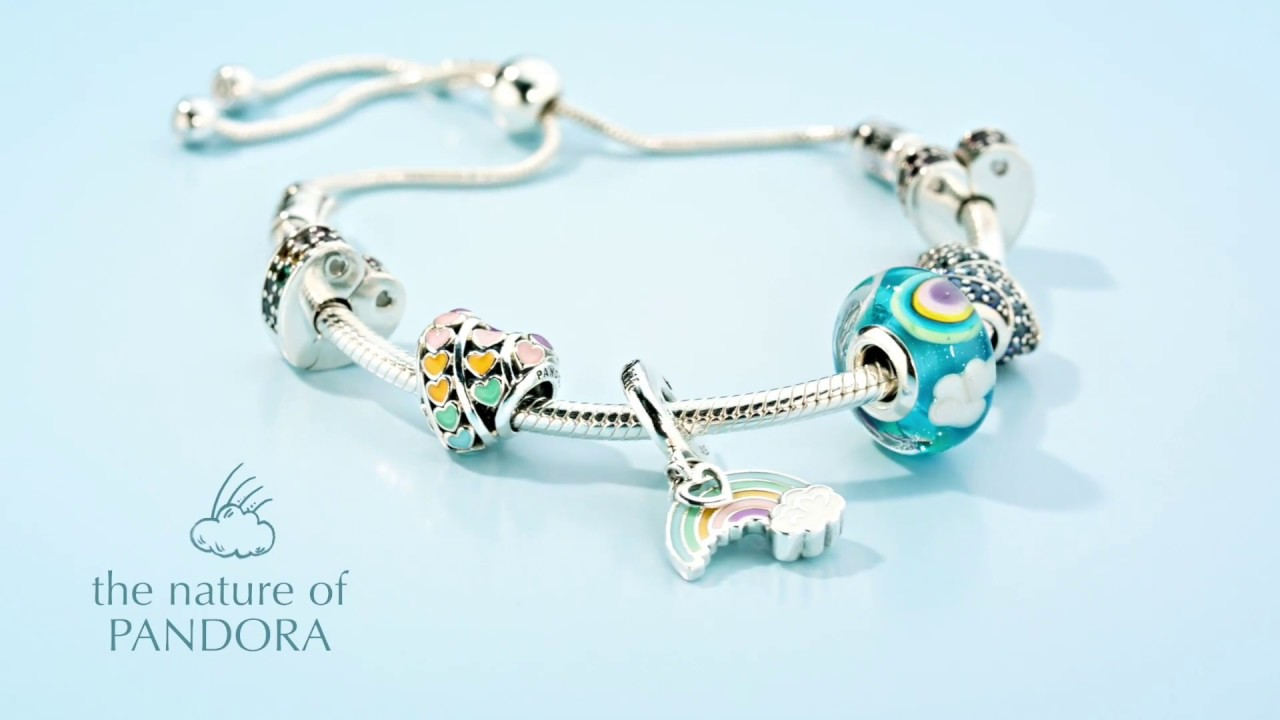 56394c25e Celebrate spring's magic with Pandora jewellery featuring fantastical  symbols, wildlife and flowers.
