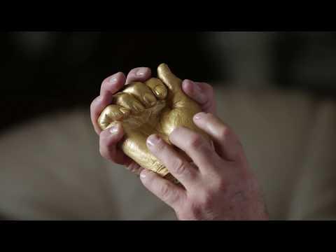 Nelson Mandela's Gold Hands