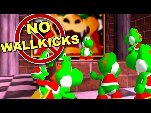 10 Youtubers VS 2 Speedrunners but you can't Wallkick ft. MINUS WORLD