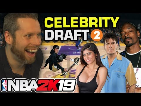 NBA 2K19 Celebrity Draft 2