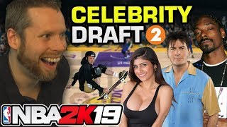 NBA 2K19 Celebrity Draft 2