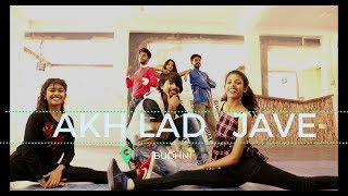 Akh Lad Jaave| loveratri| Badshah, Asees Kaur And Jubin Nautiyal choreography umesh singh