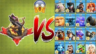 Max X-Bow vs All Troops - Clash of Clans