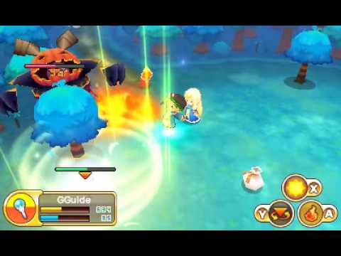 Fantasy Life: God Magician vs Pumpking (DLC)