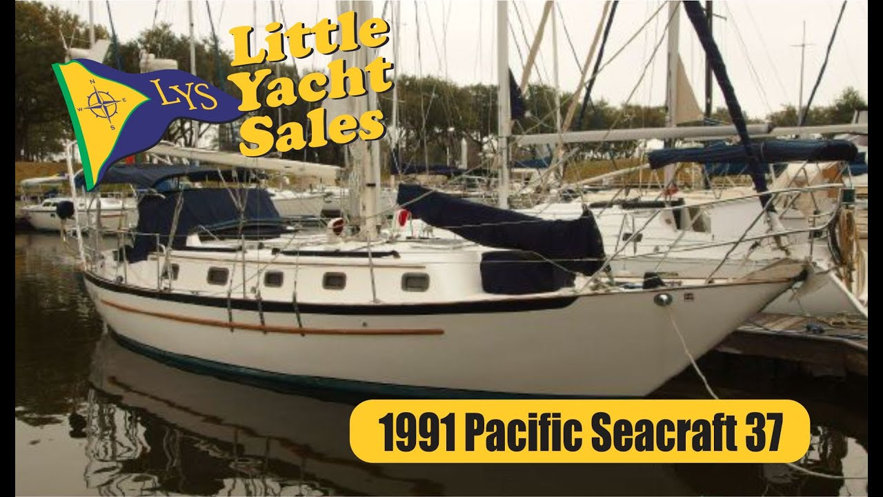 Sold 1991 Pacific Seacraft Crealock 37 Sailboat At Little Yacht Sales Kemah Texas Youtube