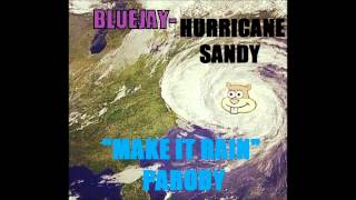 """Hurricane Sandy""- Make It Rain PARODY"