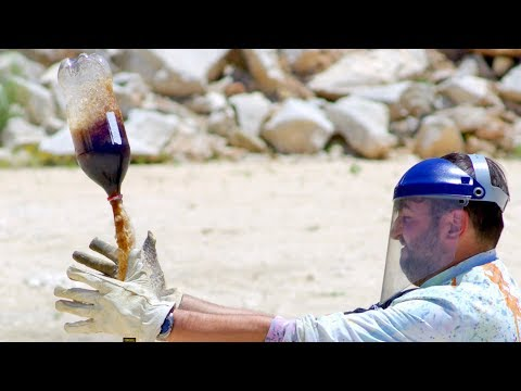 Coke & Butane = Slow Motion Rockets - The Slow Mo Guys 4K