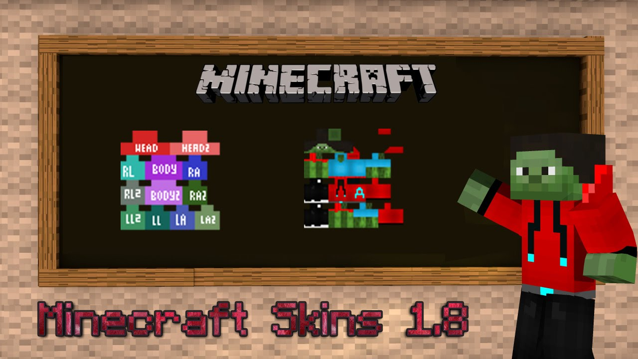 Minecraft Skins 1.8 - Como hacerlas facilmente + Descarga ...