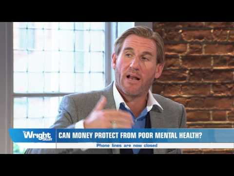 Football legend, Simon Jordan, talks about wealth and mental health