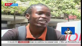 Jamaa anayetumia viatu vya magurudumu (skating) kusambaza chakula mjini | Bongo la Biashara
