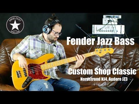 Fender Jazz Bass Custom Shop   Nordstrand, Audere   AngelDust Review