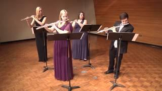 Shimmering Silver Flute Quartet: Tico Tico no Fuba