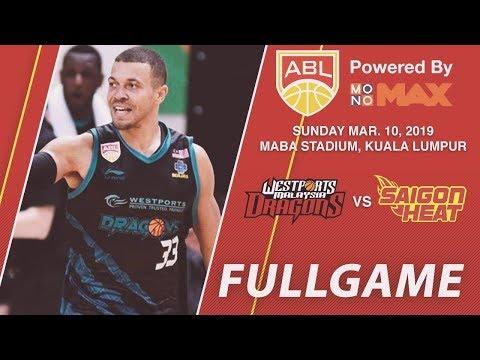 Westports Malaysia Dragons vs Saigon Heat | FULL GAME | ASEAN Basketball League
