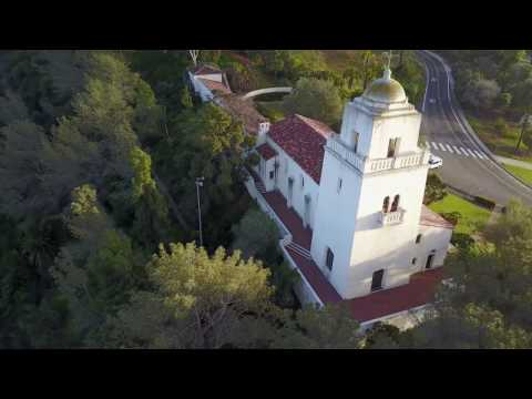 Over Presidio Park of San Diego with DJI Mavic Pro