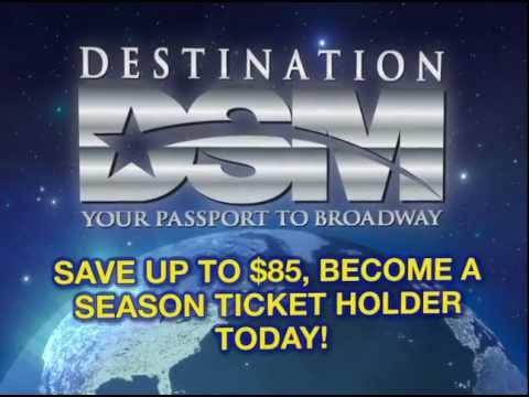 2013 DSM Season Tickets are ON SALE NOW!